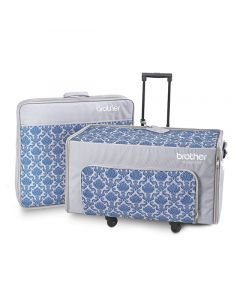 Set trolley con borse Brother per trasporto macchine ricamatrici