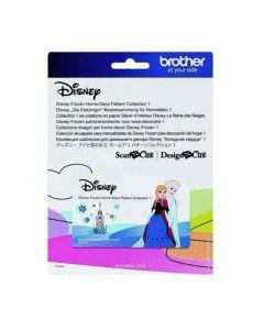 """Collezione disegni Disney per home decor n. 1 """"Frozen"""" Brother Scanncut"""