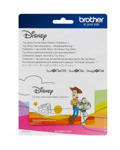 "Collezione disegni Disney per applicazioni n. 1 ""Toy Story"" Brother Scanncut"