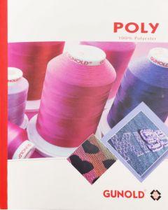 Cartella colori Gunold Poly (filati di poliestere)