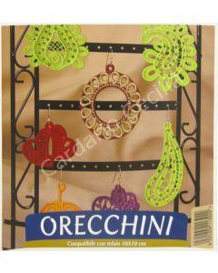 """USB Necchi """"Orecchini"""" per ricamo - Collezione di Fabiola Leone"""