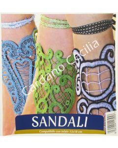 """USB Necchi """"Sandali"""" per ricamo - Collezione di Fabiola Leone"""