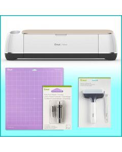 Plotter da taglio elettronico Cricut Maker CON STARTER KIT - Color Champagne CR2007002