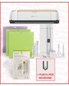 Plotter da taglio elettronico Cricut Maker CON KIT PIEGHE E INCISIONE - CR 2007002