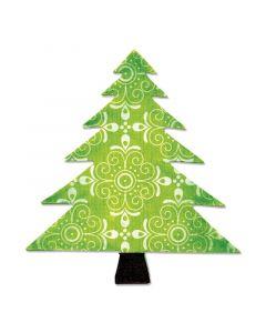 "Fustella Sizzix Bigz ""Albero di Natale"" - A10195"
