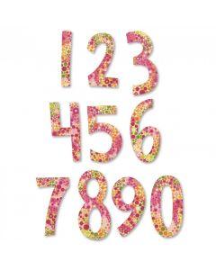 "Fustella Sizzix Bigz ""Numeri Fresh Blossoms"" - 661653"
