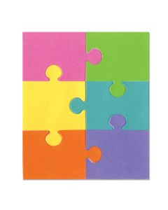 "Fustella Sizzix ""Puzzle #1"""