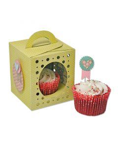 "Fustella Sizzix ""Scatola porta cupcake Thinlits Plus"" - 660842"
