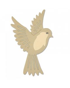 "Fustella Sizzix Thinlits ""Uccello naturale"" - 661703"