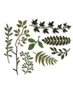 "Fustella Thinlits Sizzix ""Erba da giardino"" - 661206"