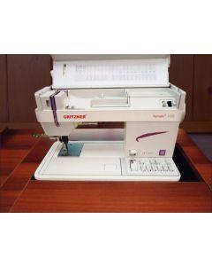 Macchina per cucire meccanica Gritzner Tipmatic 1035 DFT a base piana da inserire nel mobile