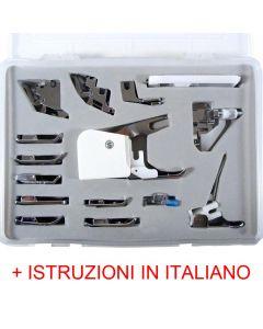 Set 15 Piedini di Cardano Cecilia con nostre istruzioni in italiano personalizzate