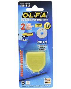Lame di ricambio per taglierina 18 mm Prym / Olfa (2 pezzi)