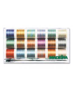 Box 18 filati Madeira Polyneon Multicolor n. 40 - No. 8046