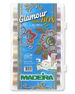 Glamour Smart Box 18 filati Madeira 200 mt.
