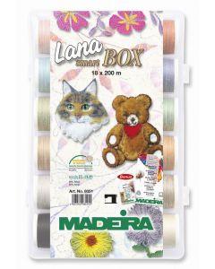Lana Smart Box 18 filati lana Madeira 200 mt.