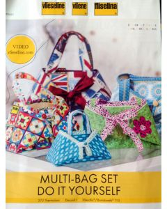 "Multi-bag set ""Do it yourself"" Fliselina per creare borsa multifunzione"