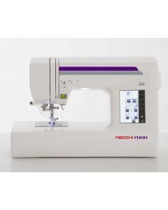 Macchina per cucire elettronica Necchi N7000 con possibilità di aggiunta unità ricamo