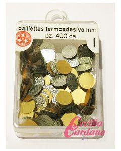 Paillettes Oro Opaco da 6mm (400 pezzi)