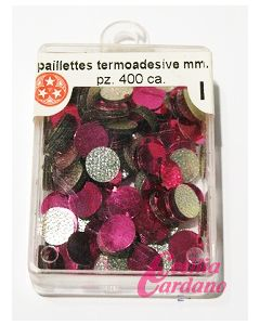 Paillettes Porpora da 6mm (400 pezzi)