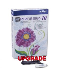 Software per macchina da ricamo Brother Pe-Design Upgrade Vers. 5/6/7/8/next a PE-DESIGN 10