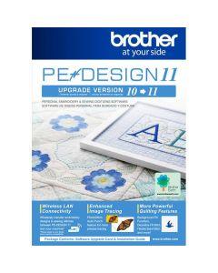 Aggiornamento software per macchina da ricamo Brother da PE-DESIGN 10 a PE-DESIGN 11