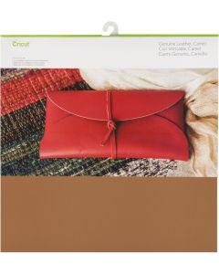 Foglio Vera pelle Cricut 30,5 x 30,5 cm - Colore cammello