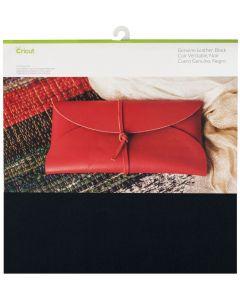Foglio Vera pelle Cricut 30,5 x 30,5 cm - Colore nero