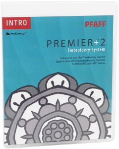 Software da ricamo Pfaff Premier+ 2 intro