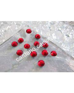Strass Rosso da 3 e 4 mm