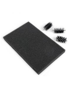 Rulli e piano di ricambio per spazzola per fustelle Sizzix (3 pezzi)