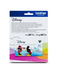 "Scheda Disney n.1 ""Topolino & Minni"" Brother Scanncut"