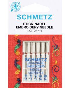 SCHMETZ Aghi per Ricamare (Embroidery)