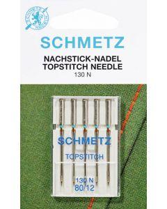 SCHMETZ TOPSTITCH 130N (adatti per macchine ricamatrici)
