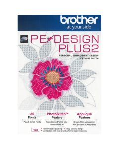 Software per macchina ricamatrice Brother PE-Design Plus 2