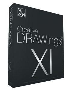 Software da ricamo multiformato DRAWings XI Creative