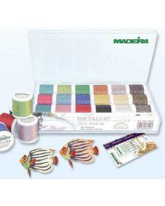 Box 18 fili ricamo Madeira Metallic Supertwist