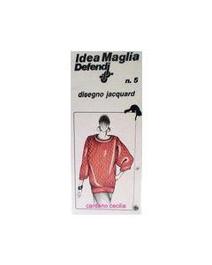 Scheda Idea Maglia per maglieria n.5