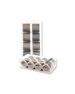 Box 8 fili ricamo Metallic Soft Madeira