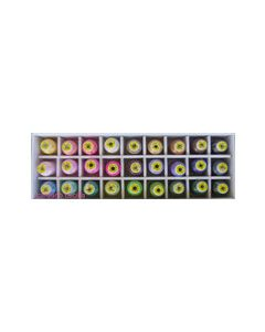 Scatola 27 Colori Gunold Poly 60 (tinte pastello)