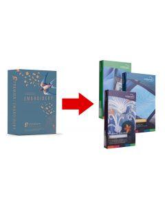 Aggiornamento software da Premier+ EMBROIDERY a MYSEWNET Silver / Gold / Platinum Pfaff / Husqvarna