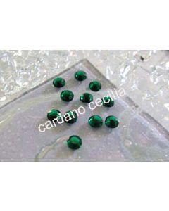 Strass Verde Smeraldo da 3 e 4 mm