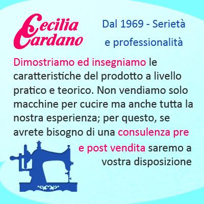 Cardano Cecilia - Macchine per cucire e maglieria